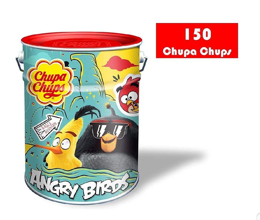 LATA DE 150 CHUPA CHUPS.