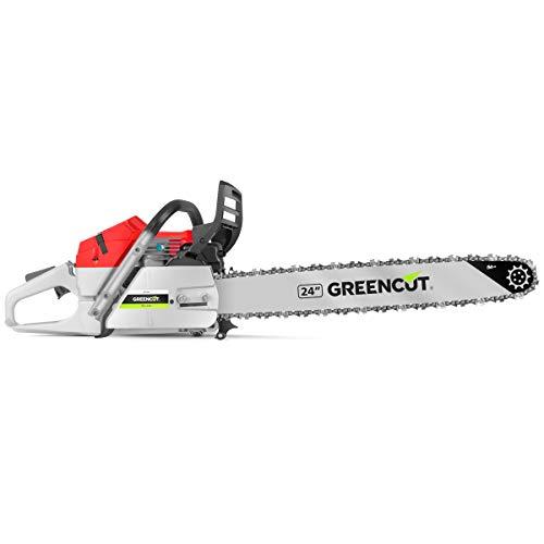 Greencut GS7500 24 - Motosierra de gasolina