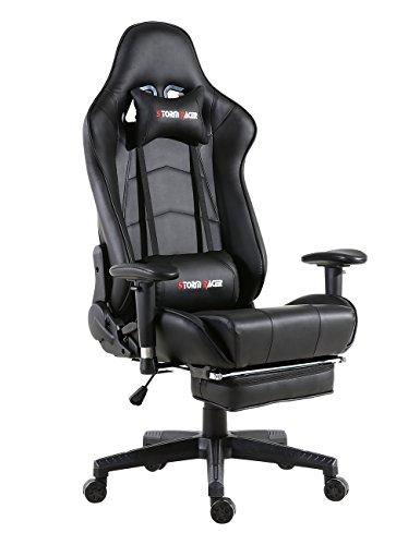 Storm Racer ergonómico Gaming Chair Silla