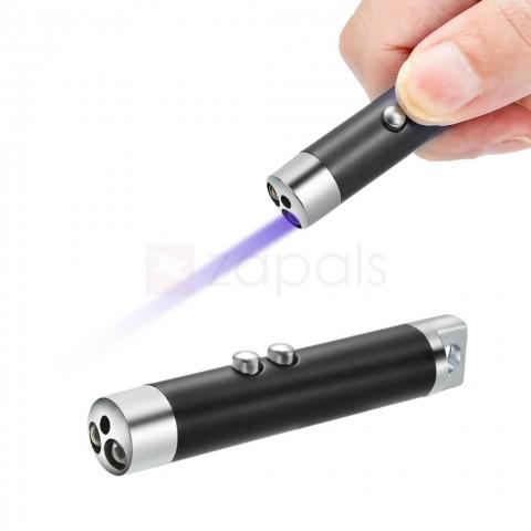 3 en 1 laser con linterna 0,28$