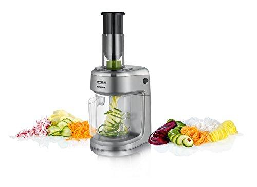 Espiralizador eléctrico y cortador de verduras