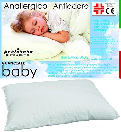 Almohada hipoalergénica para cunas de bebés
