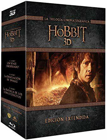 Pack El Hobbit - La Trilogía Cinematográfica - Ed Extendidas - 3D Bluray