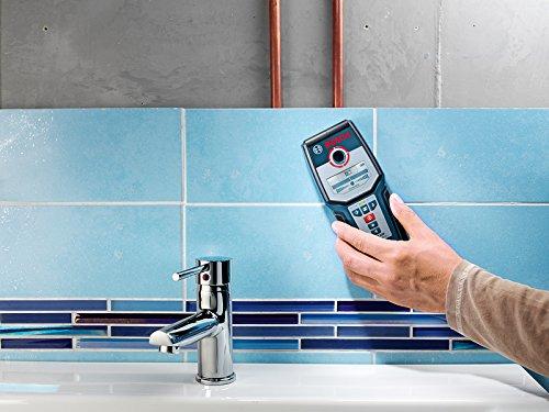 Bosch Professional GMS 120 - Detector digital (detección máx. 12 cm, autocalibración)