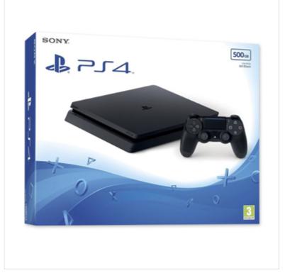 Playstation 4 (PS4) - 500Gb CON MANDO DUALSHOCK 4