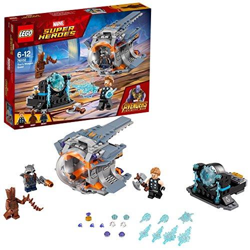 LEGO Super Heroes Aventura tras el arma de Thor