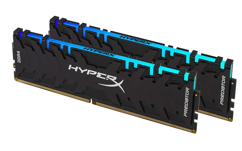 PREDATOR HYPER X RGB 2X8GB 3200 MHZ CL16 / CORSAIR VENGEANCE RGB 2X8 GB 3000MHZ CL15 93€