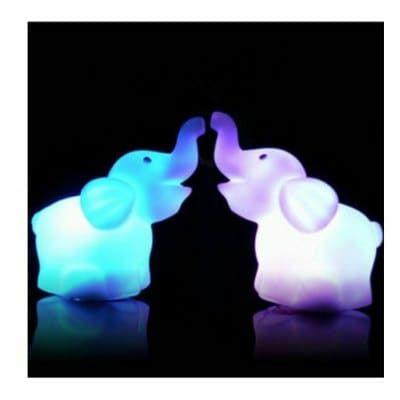 Figurita LED Elefante