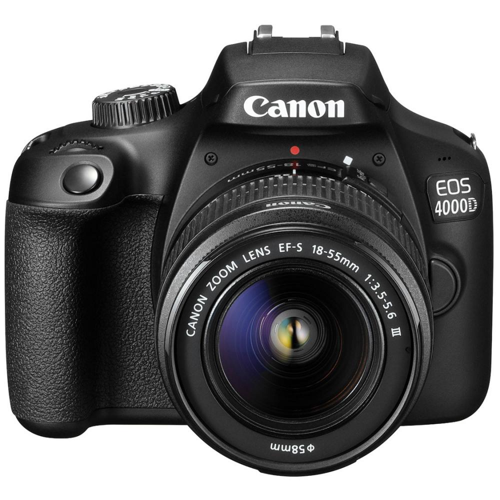 Canon EOS 4000D con  18-55mm f/3.5-5.6. Envío Nacional.