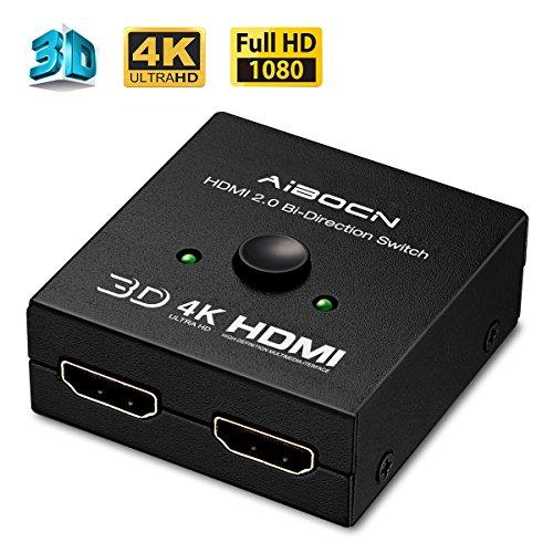 HDMI Switch 2x1 + Pack de 20 Pilas CR2016