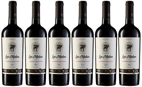 6 botellas de 75 cl - Las Mulas Cabernet Sauvignon, Vino Tinto