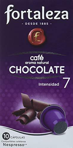 Cápsulas de café fortaleza - con Aroma Chocolate Nespresso - Total 50 Cápsulas