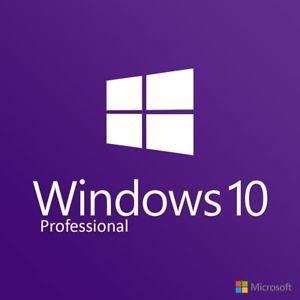 Windows 10 Pro (32/64 Bit) Genuine License - Retail Key
