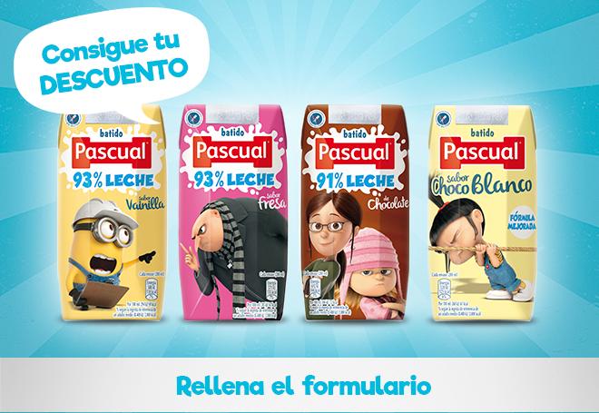 Descuento en Batidos Pascual