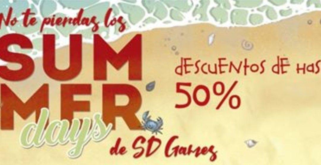 Juegos de mesa al 50 % SD games (summer days)
