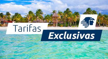 Tarifas exclusivas | Hasta 15% dto en vuelos a México