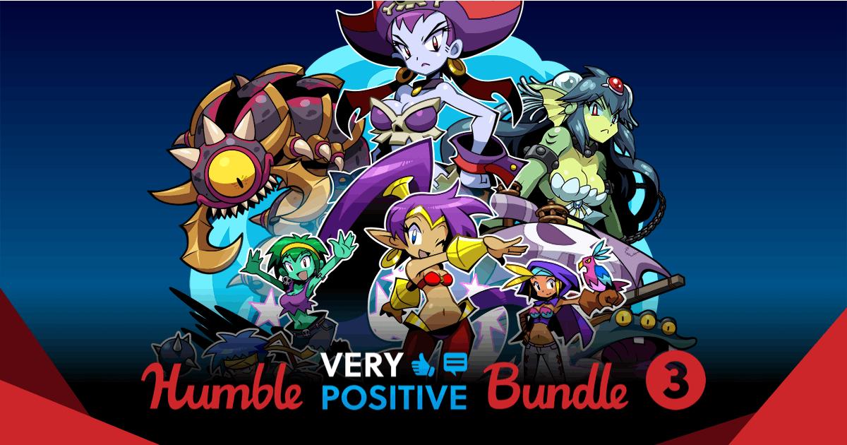 Nuevo Humblebundle Very Positive desde 0.9€