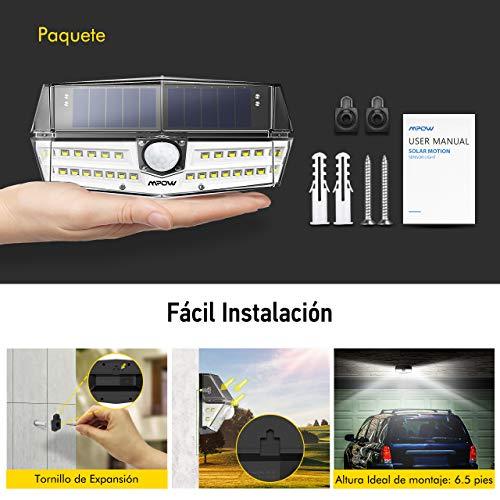 Foco solar 30 Led Ip66 9,9€