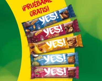 PRUEBA GRATIS Barritas YES de Nestle®