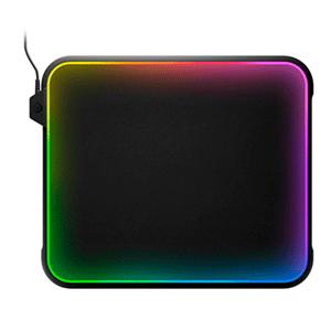 ALFOMBRILLA GAMING STEELSERIES QCK PRISM RGB RÍGIDA DOBLE SUPERFICIE