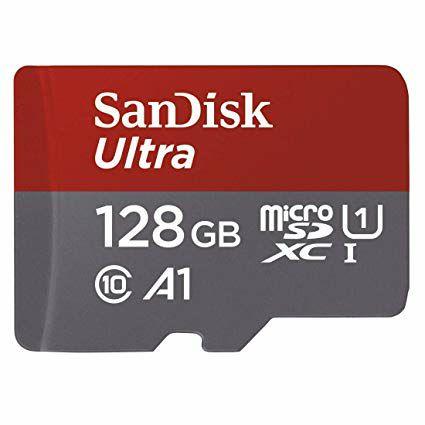 Tarjeta de memoria SanDisk de 128GB a muy buen precio