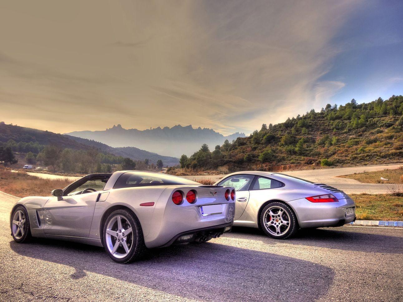 conduce un Porsche Carrera un Corvette o un Ferrari  F430 Spider desde solo 25 euritos