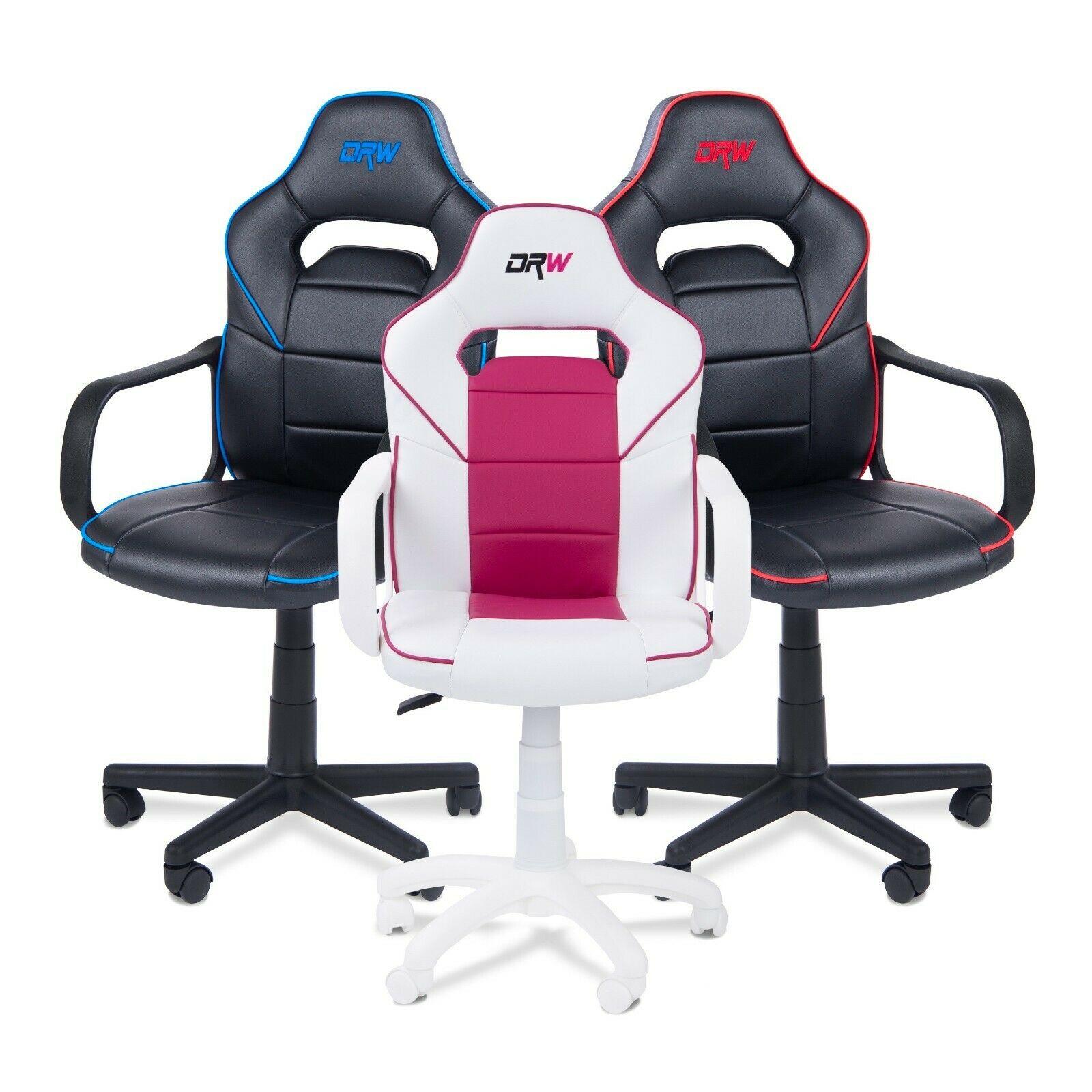 Silla gaming, sillon oficina o despacho, estudio o escritorio, modelo Gamer DRW