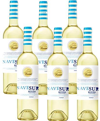 Nave Sur Verdejo - 6 Botellas de 750 ml - Total: 4500 ml