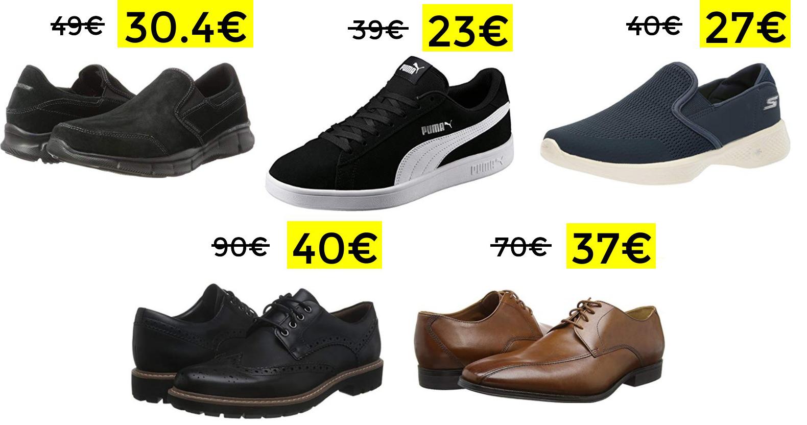 Preciazos en calzado con hasta un 60% de descuento