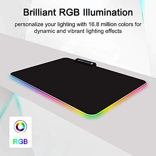 TYBLOOMY RGB Alfombrilla de Ratón