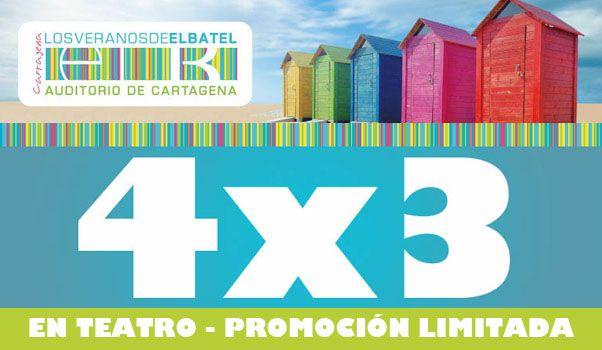 4×3 en las obras teatrales 'Intocables' y 'La Culpa' de Los Veranos de El Batel