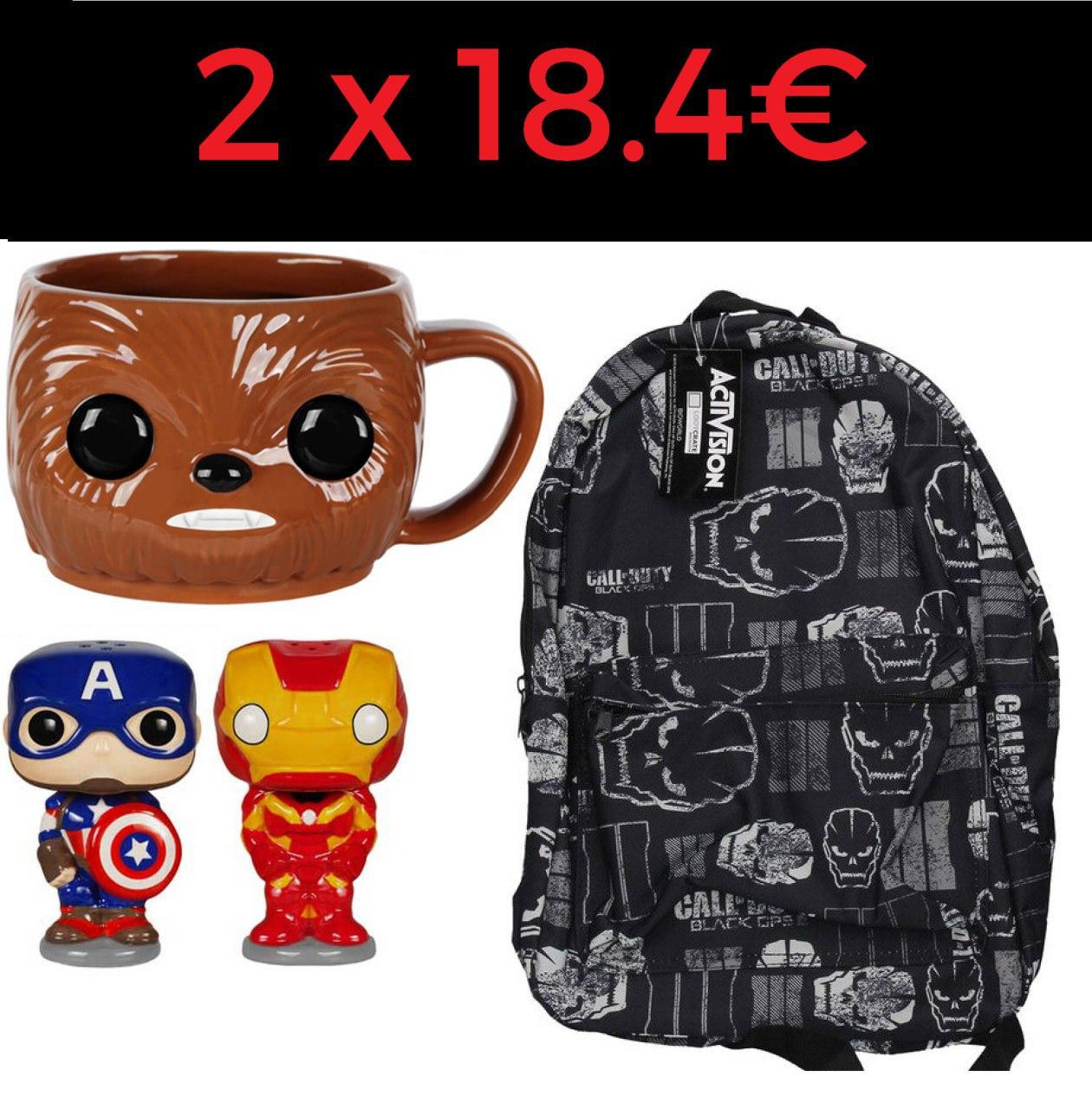 2 productos por 18.4€ en Zavvi