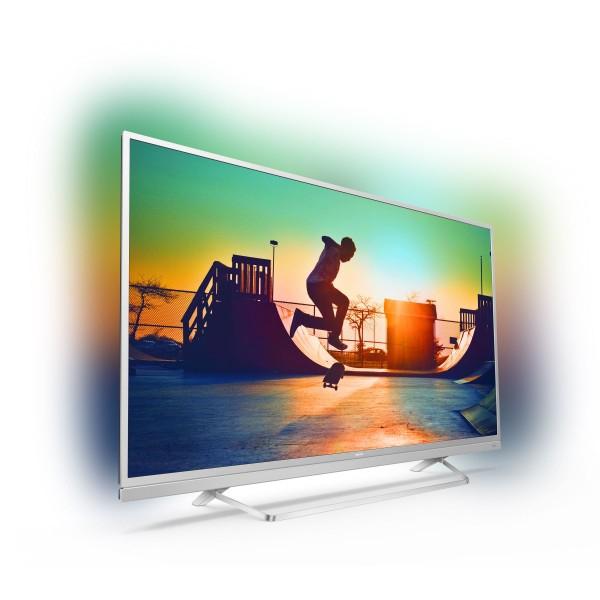 "TV 55"" - PHILIPS 55PUS6482/12 LED 4K ULTRA HD , SMART TV , AMBILIGHT 3 LADOS"