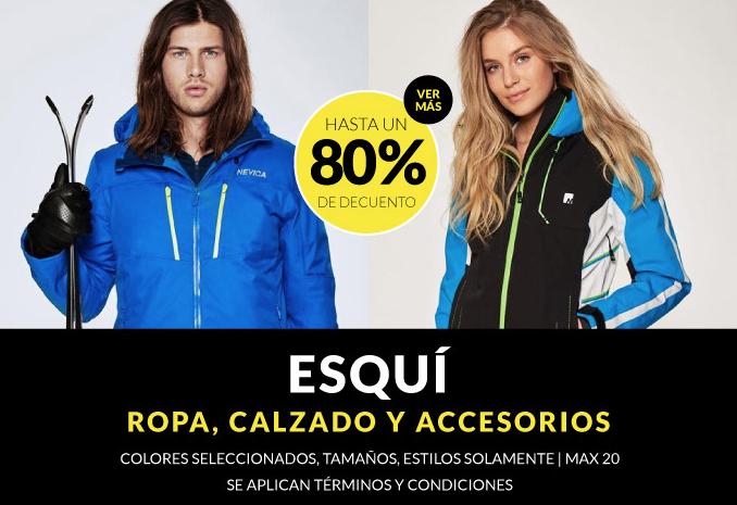 Hasta 80% de descuento en ropa de esquí, calzado y accesorios en Sportsdirect