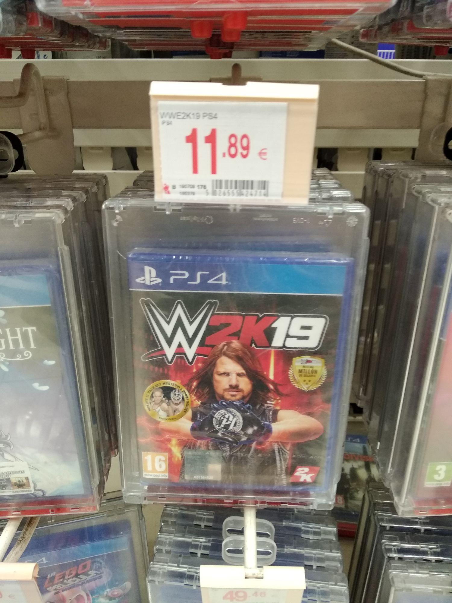 WWE 2k19 PS4 (Alcampo Telde)