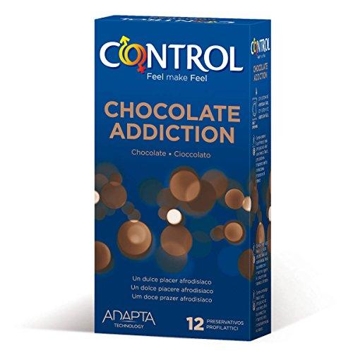 12 Preservativos Control Chocolate - Producto Plus