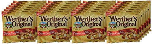 24 paquetes Werther's Original Caramelos de Mantequilla y Nata Fresca Total 3240 g