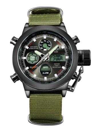 Reloj militar sumergible 3ATM solo 1.3€