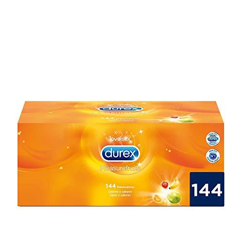 Durex Preservativos Saboreame - 144 Condones con Sabores Afrutados