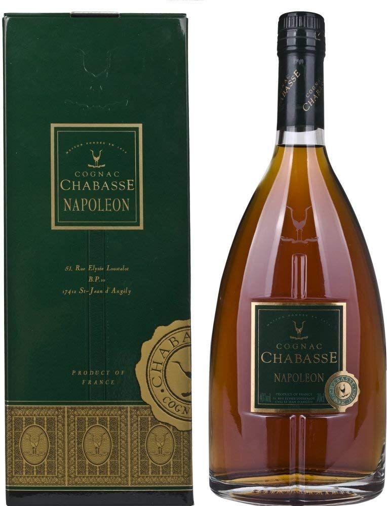 Cognac Chabasse Napoleon 12 Años en Caja de Regalo - 700 ml