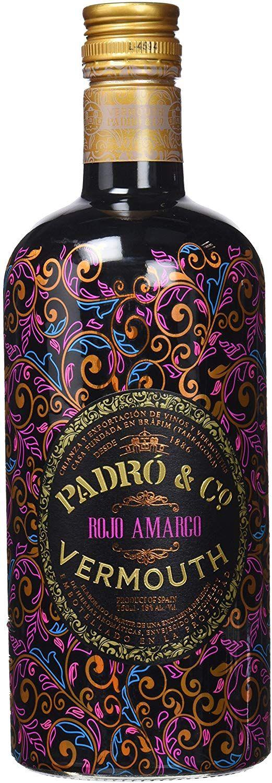 3 botellas de Vermouth Rojo Amargo Padró & Co de 750 ml - Total: 2250 ml.