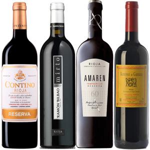 Hasta 70% Vinos Rioja (Contino Graciano, Remirez, Mirto, LAN, Monte Real y otros)
