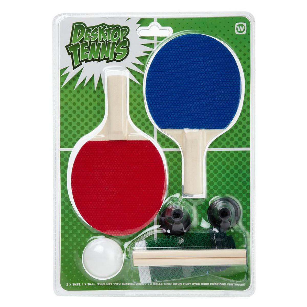 Set de Ping Pong, palas pelota y red