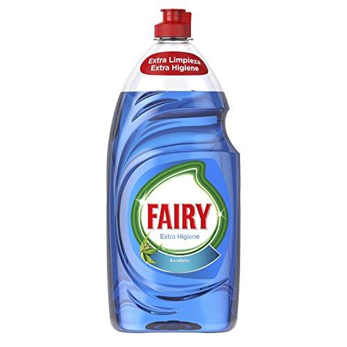 4 x Fairy Extra Higiene Líquido para Lavavajillas Eucalipto 4 Paquetes de 1015 ml - Total: 4060 ml