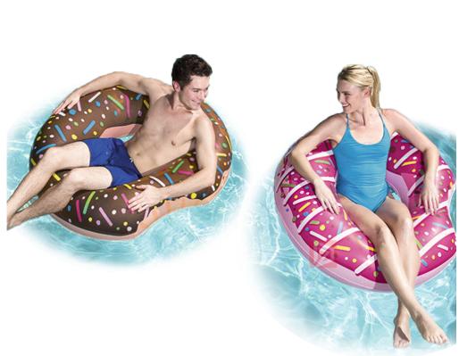 Flotadores gigantes con forma de Donut desde solo 13€