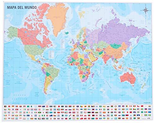 Mapa del Mundo 40 x 50