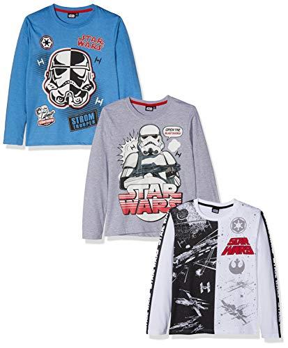 ¡3 camisetas Star Wars para niños sólo 7,68€!