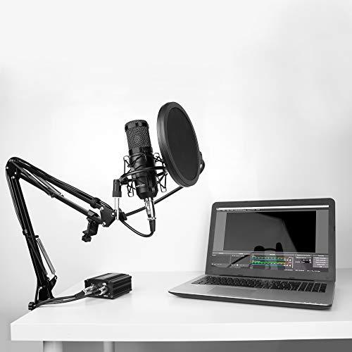Mars Gaming MMICKIT - Micrófono Profesional+6 Accesorios