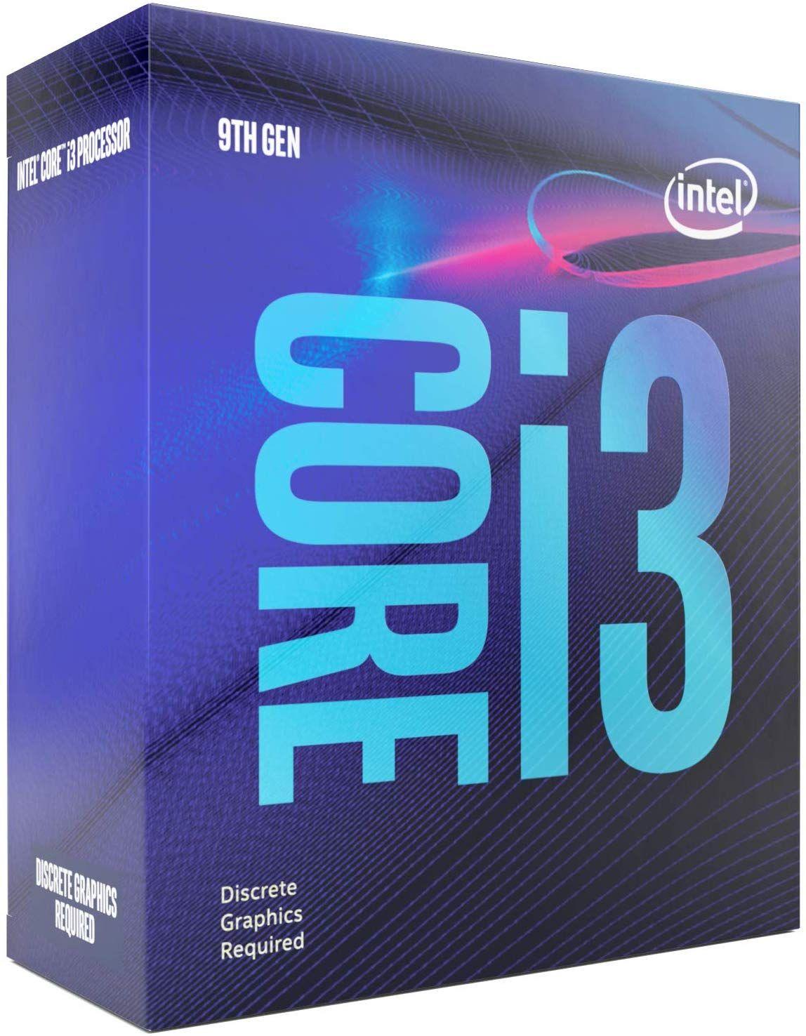Intel Core i3-9100F 4x3.6 (Boost 4.2) GHz 6MB-L3 Cache Sockel 1151
