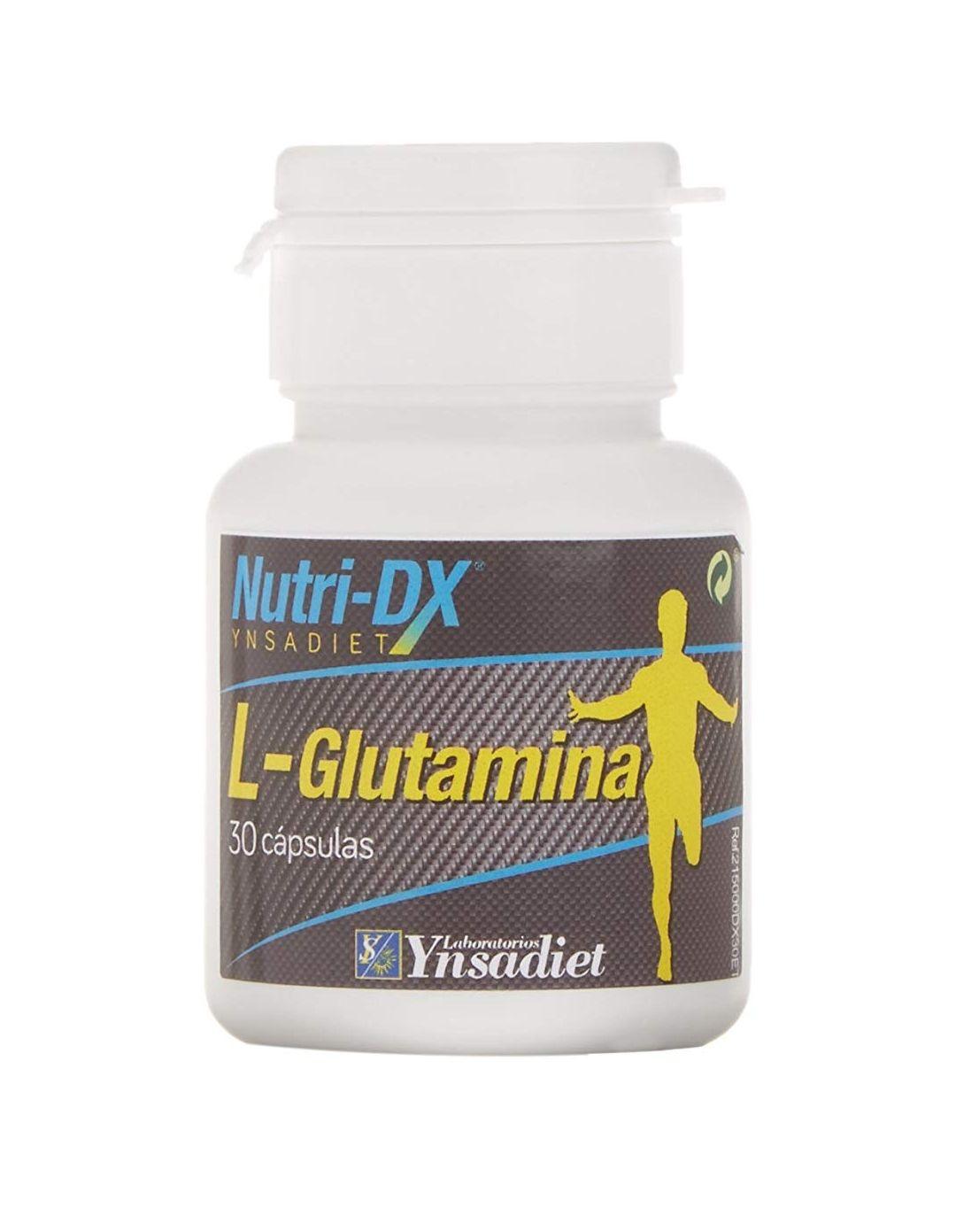 L Glutamina 30 cápsulas